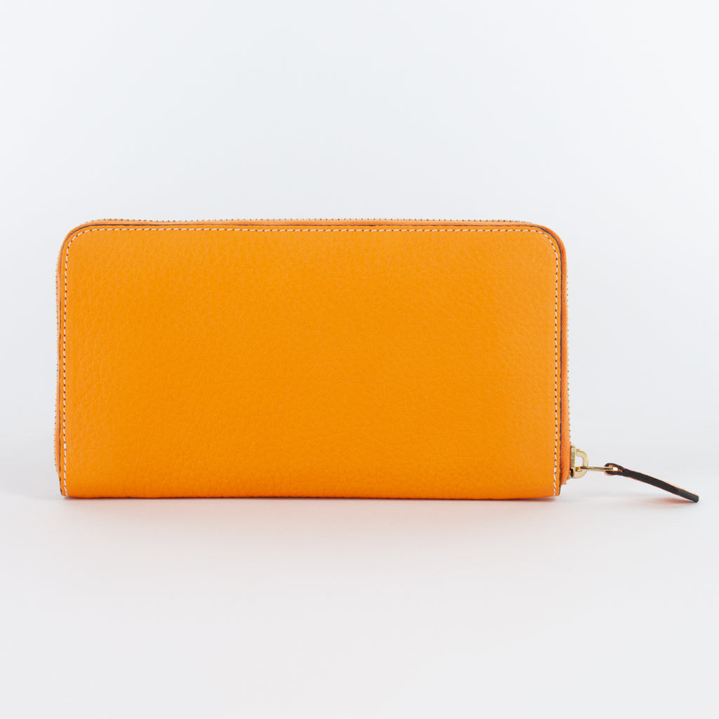 P0967 LD ZIP LONG WALLET Col.Arancione