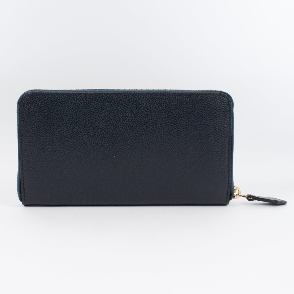 P0967 MF ZIP LONG WALLET Col.Navy