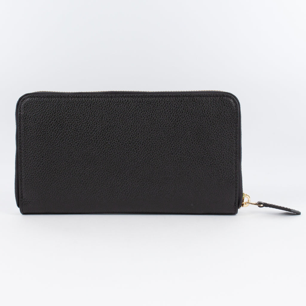 P0967 MF ZIP LONG WALLET Col.Nero