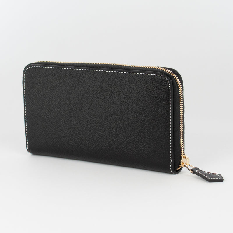 P1027 LD THIN LONG WALLET Col.Navy