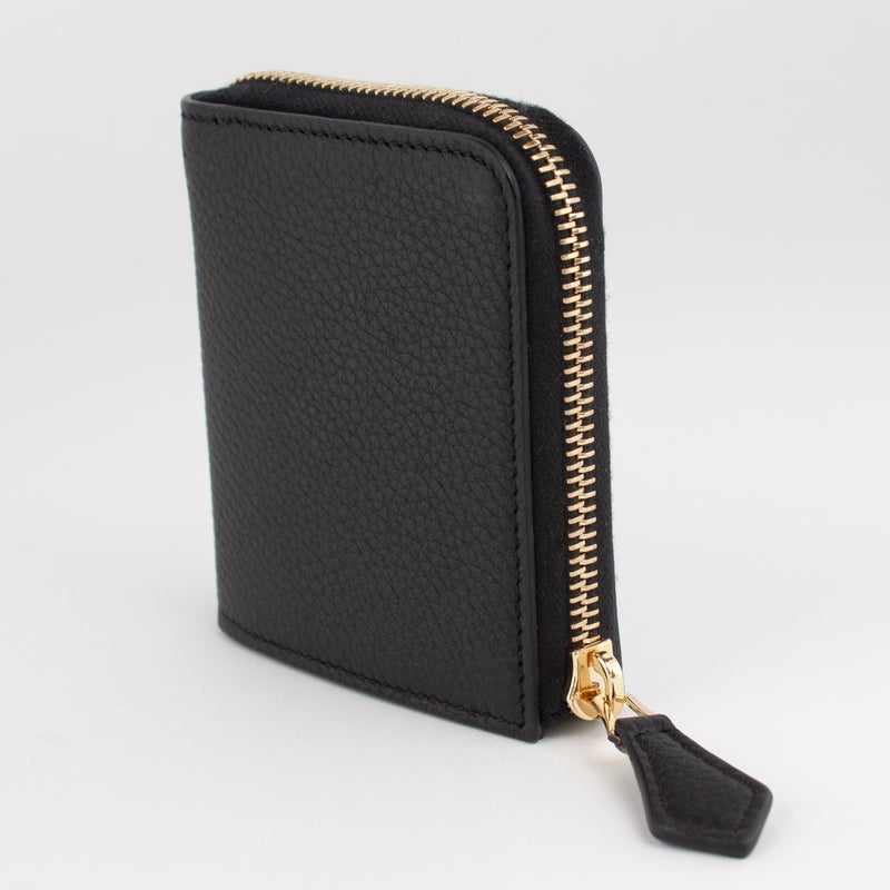 P0968 LD ZIP WALLET Col.Nero