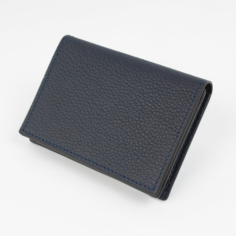 P1021 LD BUSINESS CARD CASE Col.Navy(T)