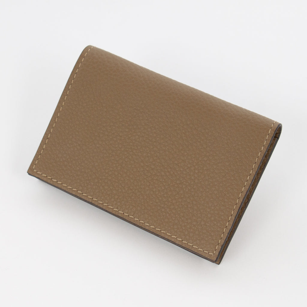 P1021 LD BUSINESS CARD CASE Col.T.Kaki