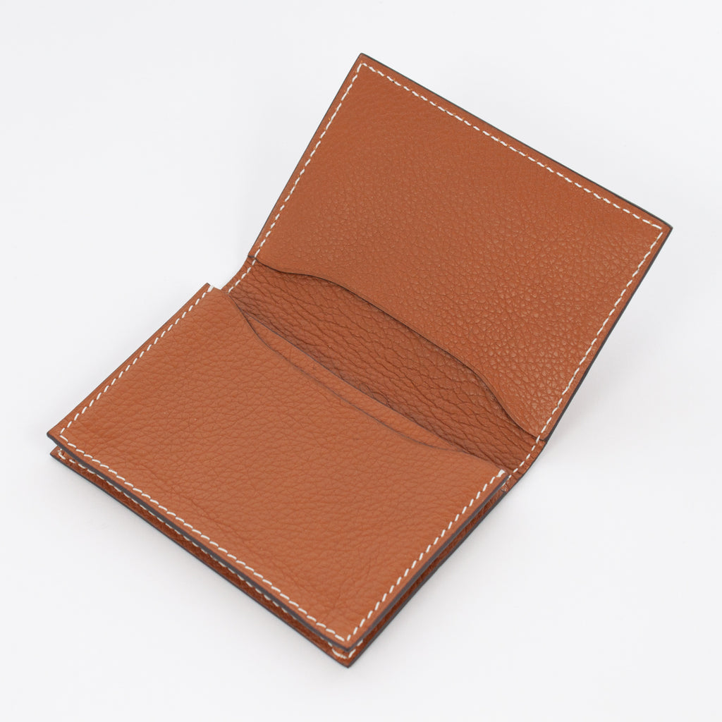 P1021 LD BUSINESS CARD CASE Col.Marrone