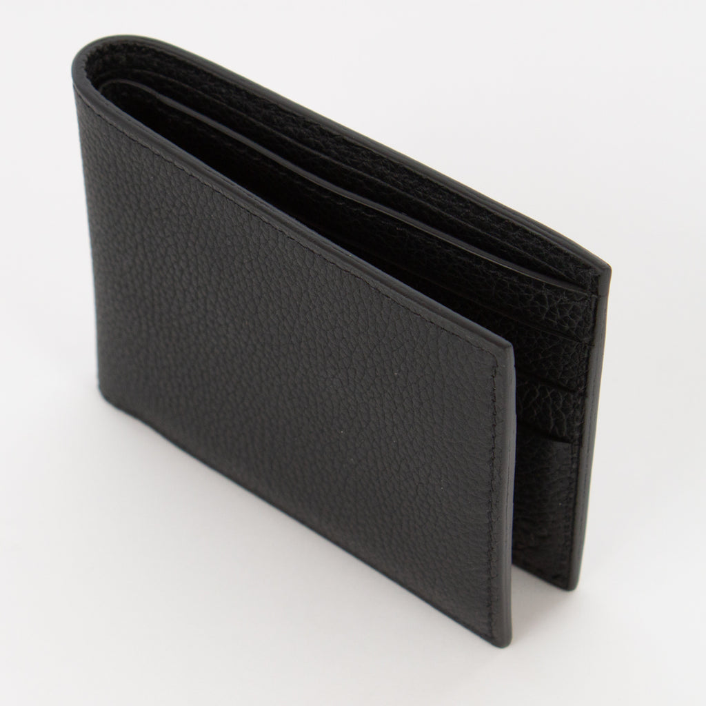 P1022 LD FOLDING WALLET FOR 6 CARDS Col.Nero