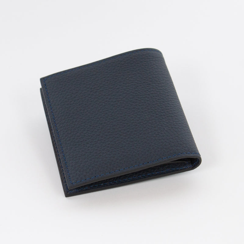 P1023 LD FOLDING WALLET WITH COIN PURSE Col.Navy
