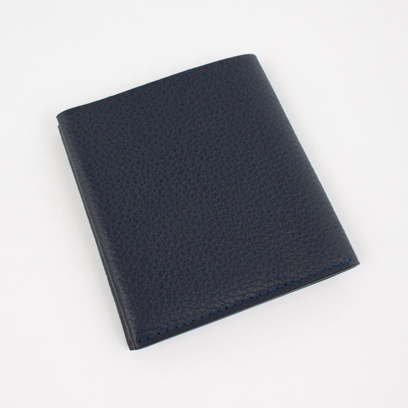P1026 LD FOLDING THIN WALLET Col.Navy