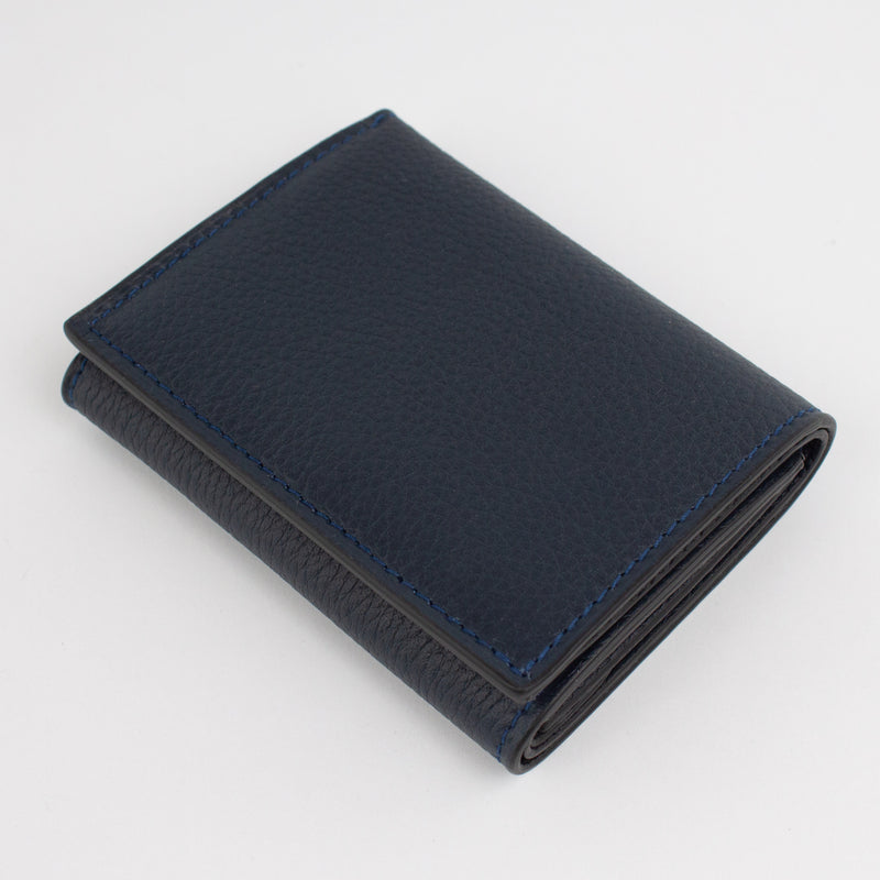 P1023 LD FOLDING WALLET WITH COIN PURSE Col.Nero