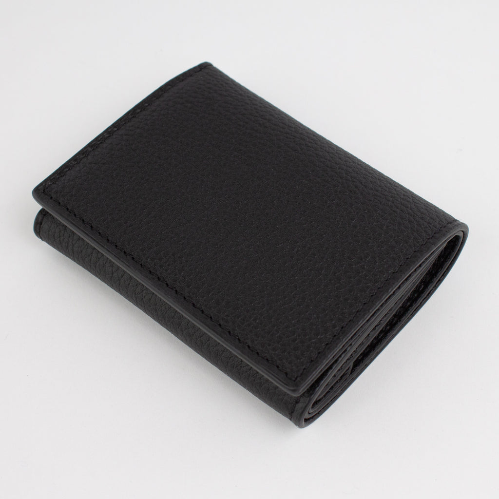 P1030 LD FOLDING WALLET WITH COIN PURSE Col.Nero