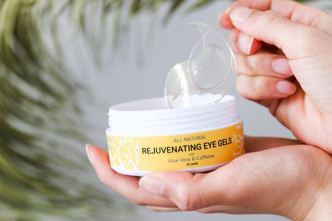Everyday Under Eye Gels with Caffeine and Aloe - Doppeltree