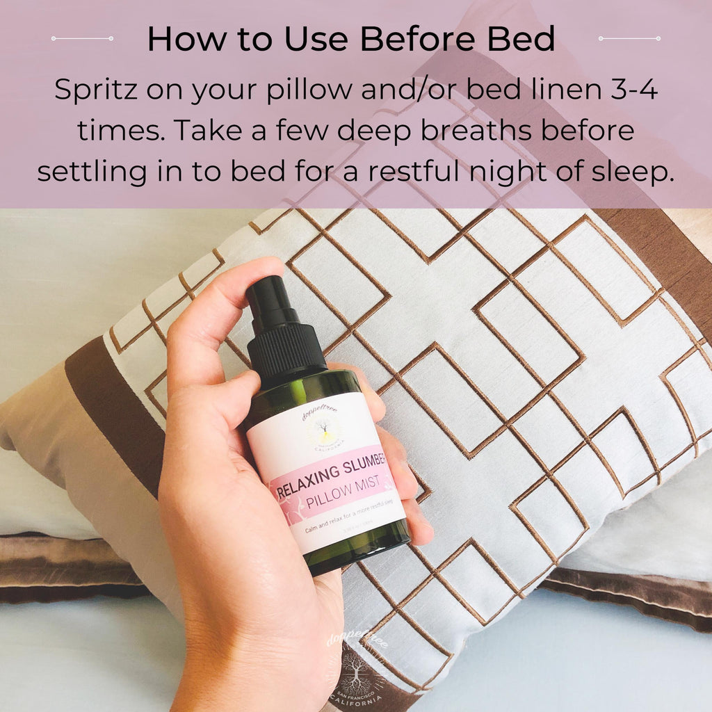 doppeltree pillow spray mist - how to use