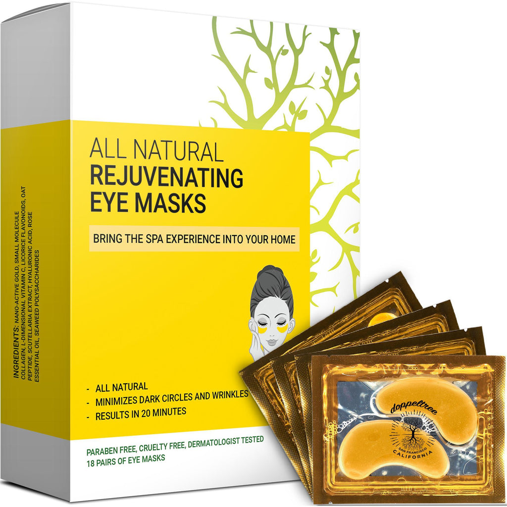 Rejuvenating Under Eye Masks (18-pairs) - Doppeltree