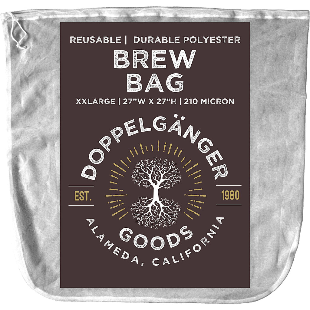 Reusable Polyester Brew-In-A-Bag 27in x 27in (XXL)-Doppeltree