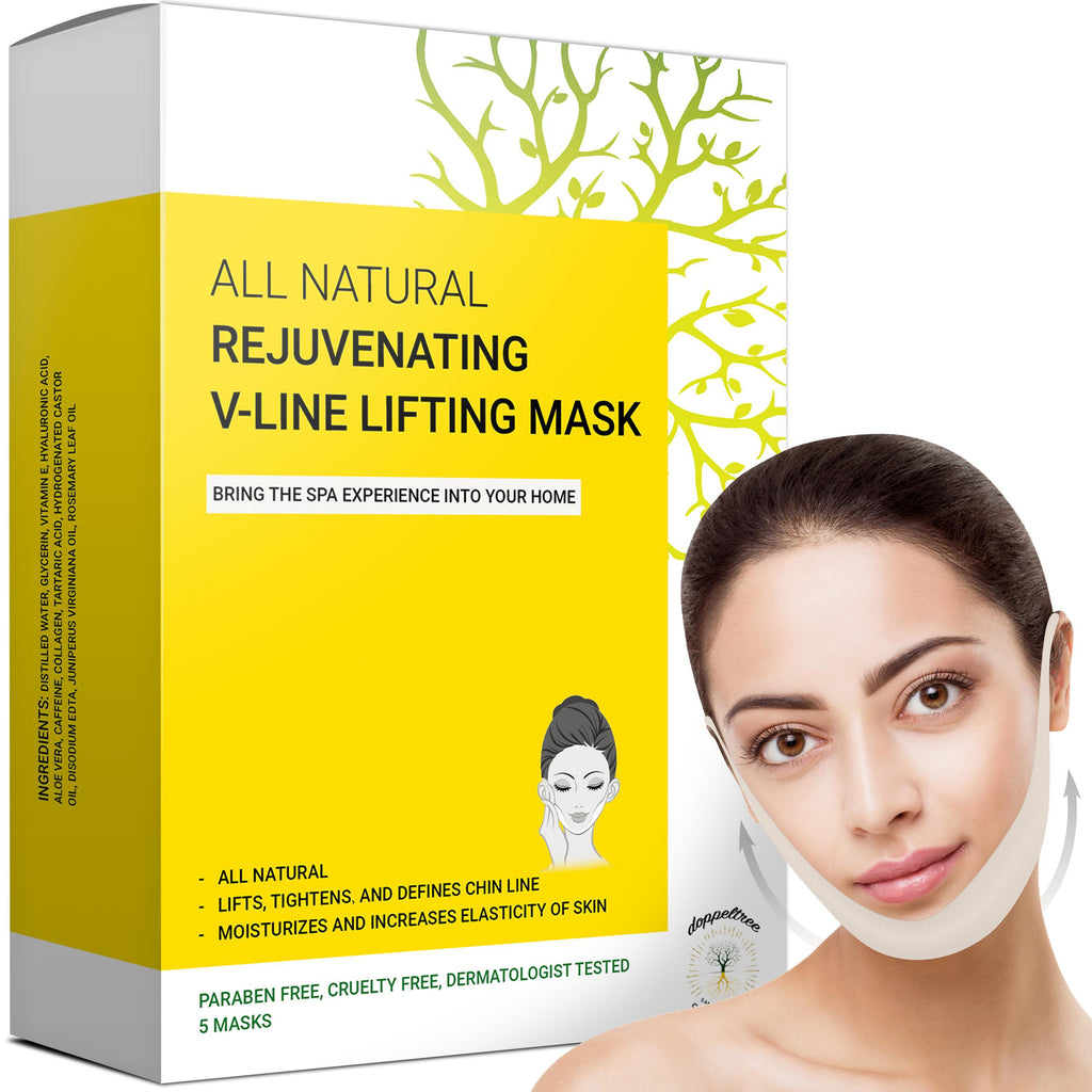 NEW! V-Line Lifting Chin Mask (5-masks) - Doppeltree
