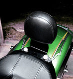 "Fortress Motorcycle Custom ""Freebird"" solo rider Back rest"