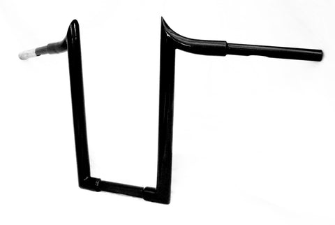 "Fortress Motorcycle Custom fat monkey ""Blackthorn"" handlebars"