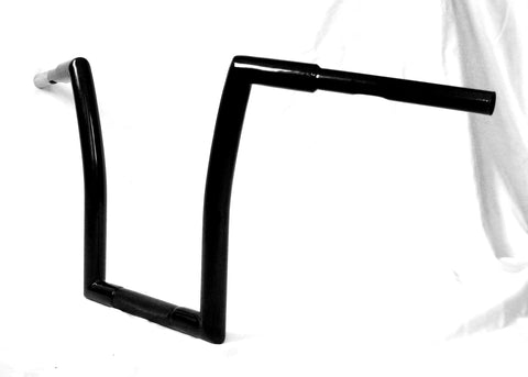 "Fortress Motorcycle custom fat monkey ""Hybrid wide"" handlebars"