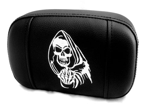 "Fortress Motorcycle custom ""Reaper"" sissybar/backrest pad"