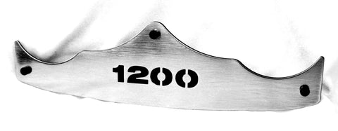 "Fortress Motorcycle Rear Fender Tips ""1200"""