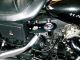 "Fortress Motorcycle custom  ""Oil"" instrument relocation bracket"