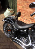 "Fortress motorcycle custom solo rider ""Eagle spirit"" backrest"