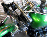 "Fortress Motorcycle custom ""Prestige"" front luggage rack"