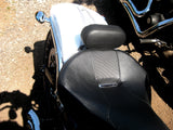 "Fortress Motorcycle custom ""Defender"" rider backrest"