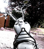 "Fortress Motorcycle Dyna models Custom Sissy Bars ""Monarch"""