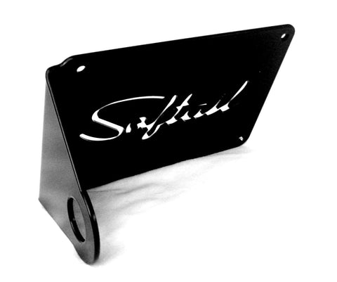 "Fortress Motorcycle Custom ""Softail"" License plate holder"