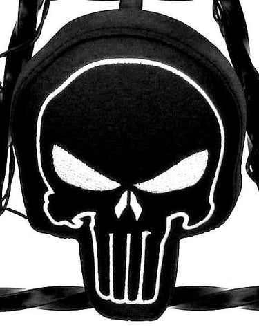"Fortress Motorcycle custom ""Punisher"" backrest/sissybar pad"