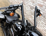 "HANDLEBARS - ""FAT MONKEY"" RANGE ""BLACKTHORN SLIM"" - UNIVERSAL FIT"