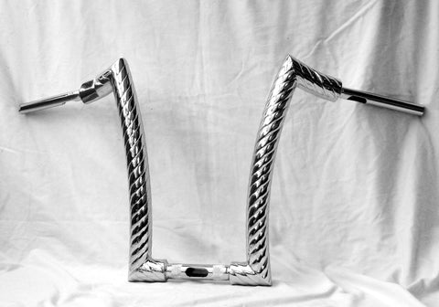 "HANDLEBARS - FAT MONKEY ""ROPE TWIST"" RANGE ""FREEBIRD"" - UNIVERSAL FIT"