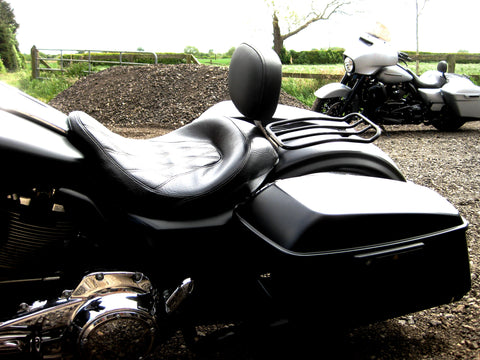 "BACKREST - RIDER -""DEFENDER"" - TOURING MODELS"