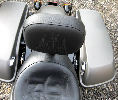 "BACKREST - ADJUSTABLE RIDER -""WARDEN"" - TOURING MODELS"