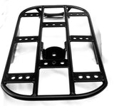 "Fortress Motorcycle Custom ""Flat Extended Utility Rack"" Luggage rack"