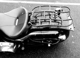 "Fortress Motorcycle Custom ""Curved Extended Utility Rack"" Luggage rack"