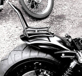 "Fortress Motorcycle Custom ""Reverse"" sissy bar luggage rack"