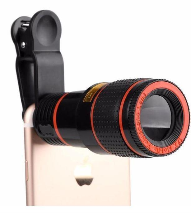 HD12X Zoom Universal Telephoto Mobile Lens - fancyhomey