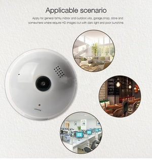 Smart Panoramic Bulb Camera - fancyhomey