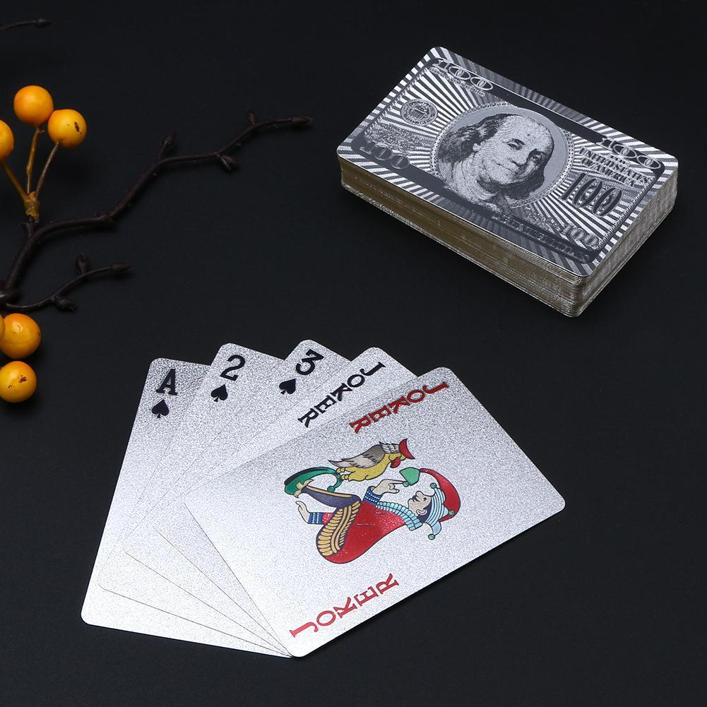 Gold/Silver Poker Cards - fancyhomey