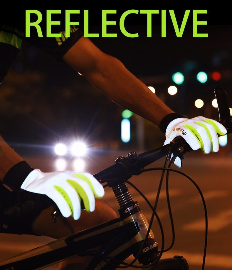 Reflective Cycling Gloves - fancyhomey