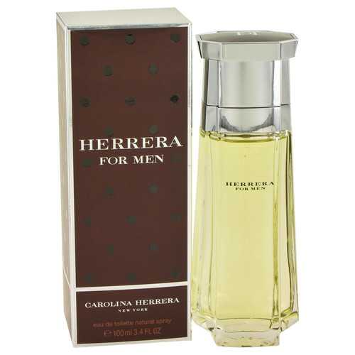 CAROLINA HERRERA by Carolina Herrera Eau De Toilette Spray 3.4 oz (Men)