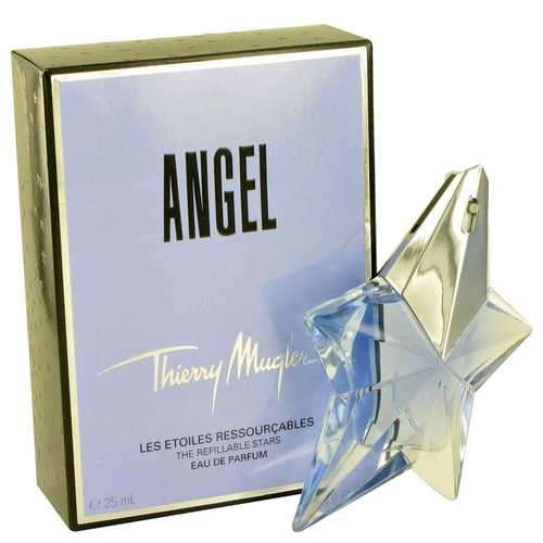 ANGEL by Thierry Mugler Eau De Parfum Spray Refillable .8 oz (Women)