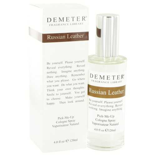 Demeter by Demeter Russian Leather Cologne Spray 4 oz (Women)