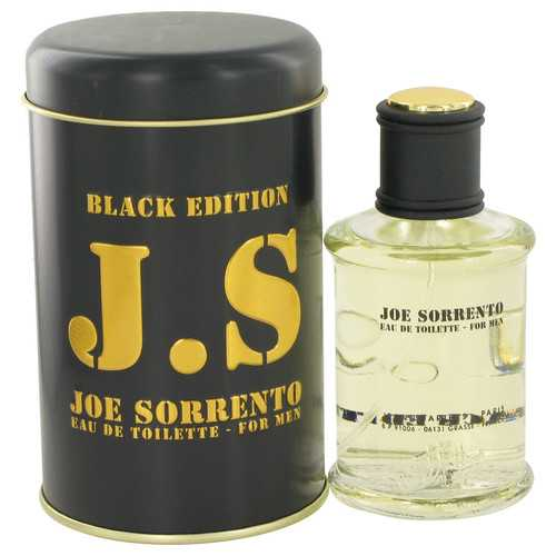 Joe Sorrento Black by Jeanne Arthes Eau De Toilette Spray 3.3 oz (Men)