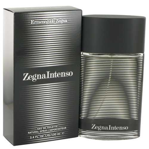 Zegna Intenso by Ermenegildo Zegna Eau De Toilette Spray 3.4 oz (Men)