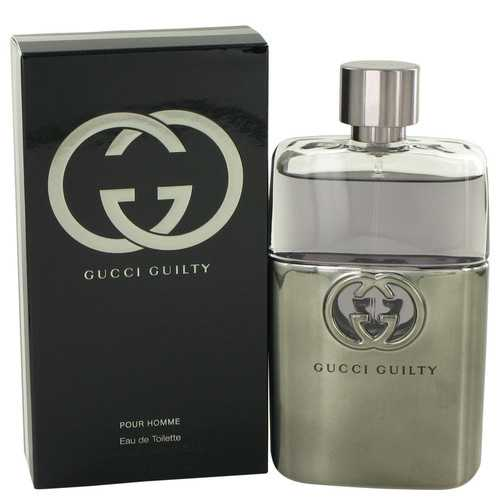 Gucci Guilty by Gucci Eau De Toilette Spray 3 oz (Men)