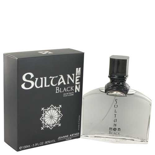 Sultan Black by Jeanne Arthes Eau De Toilette Spray 3.3 oz (Men)