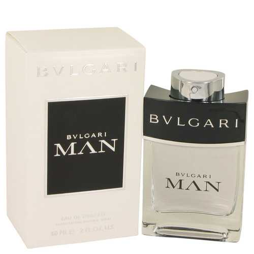 Bvlgari Man by Bvlgari Eau De Toilette Spray 2 oz (Men)