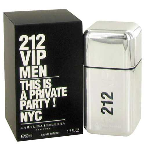212 Vip by Carolina Herrera Eau De Toilette Spray 1.7 oz (Men)